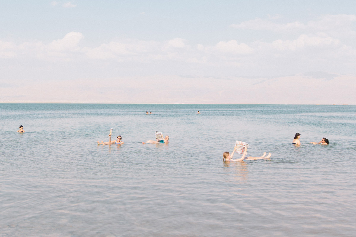 Sales y Barro del Mar Muerto